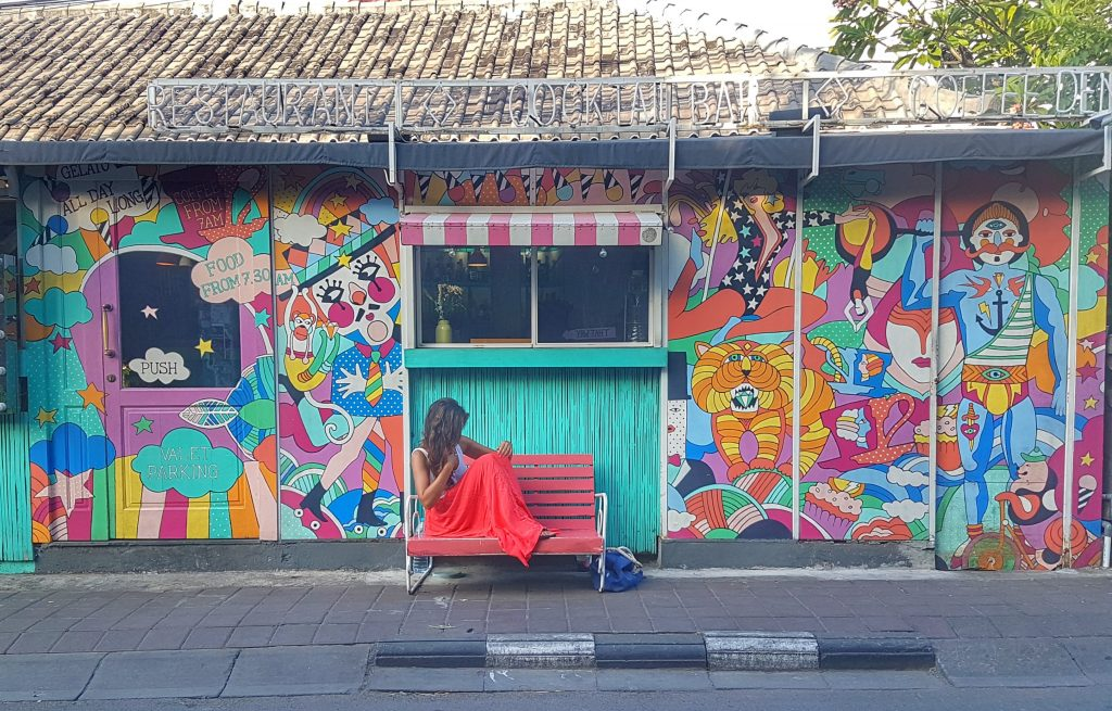 Seminyak: na zona trendy de Bali