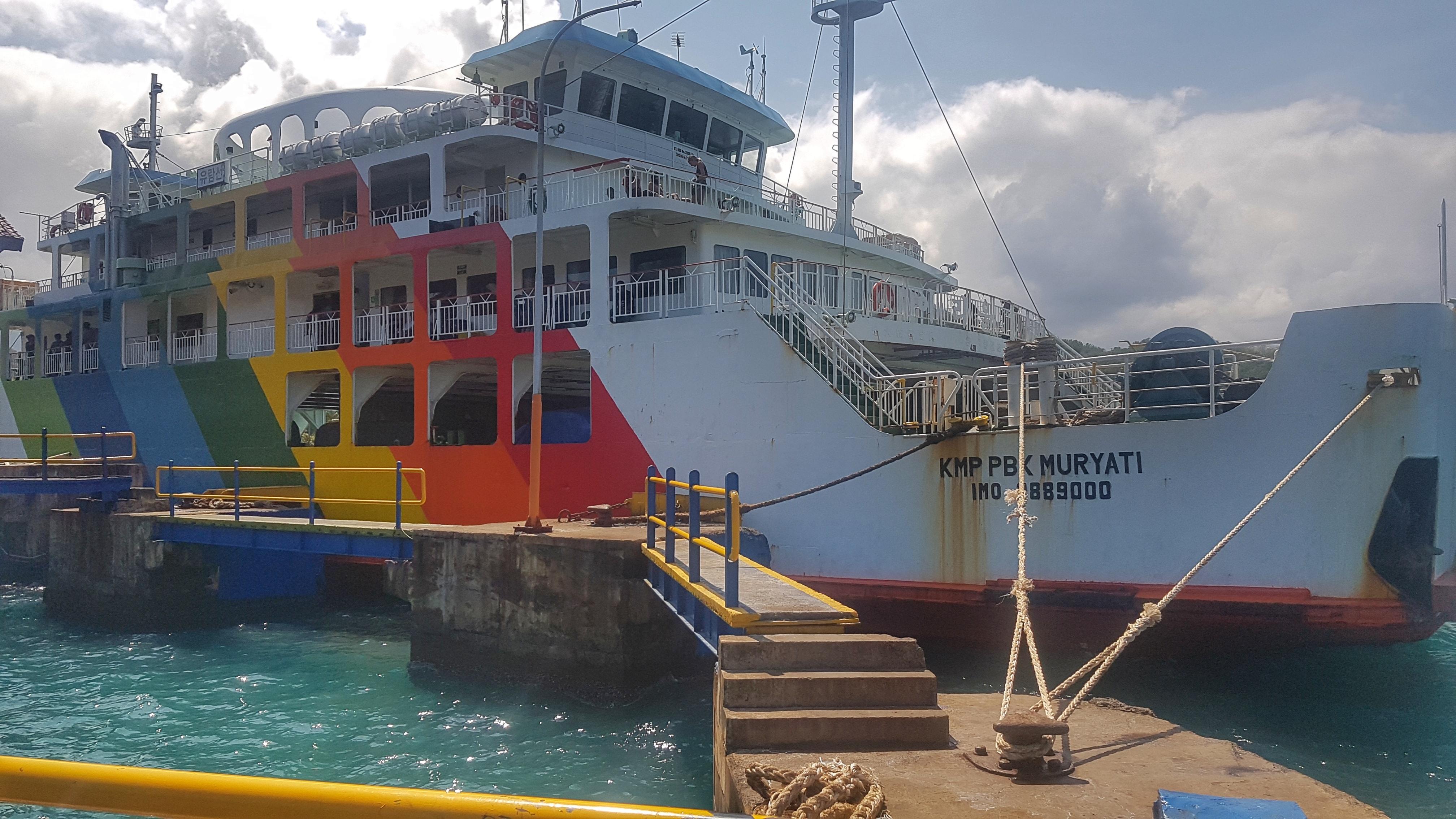 A viagem de Ferry: Bali – Lombok