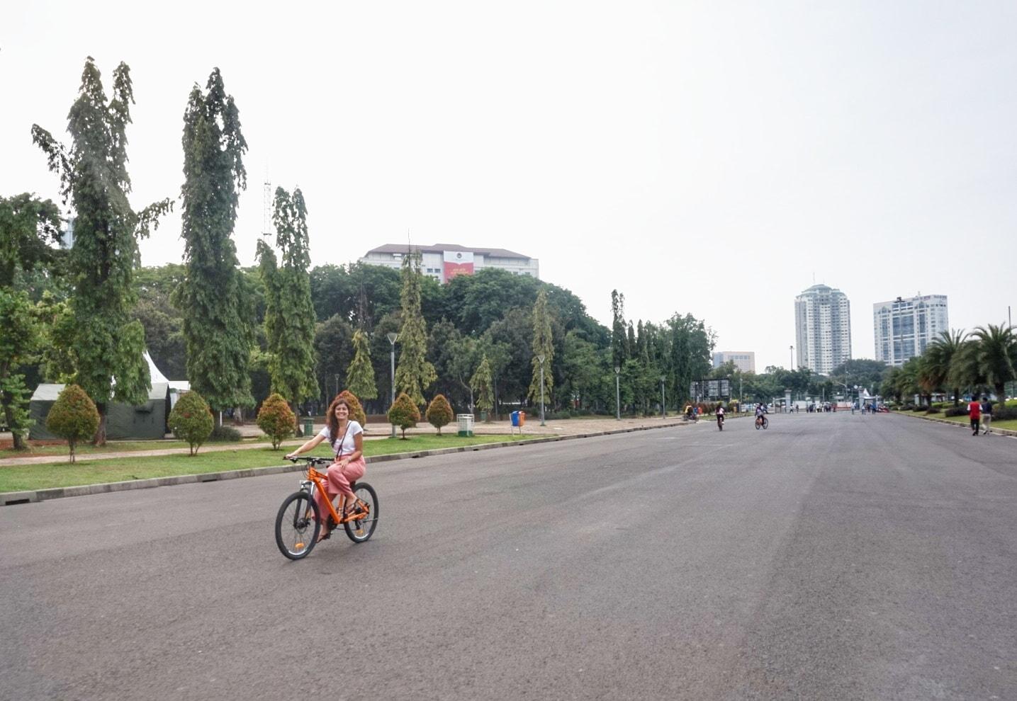 Uma semana em Jakarta