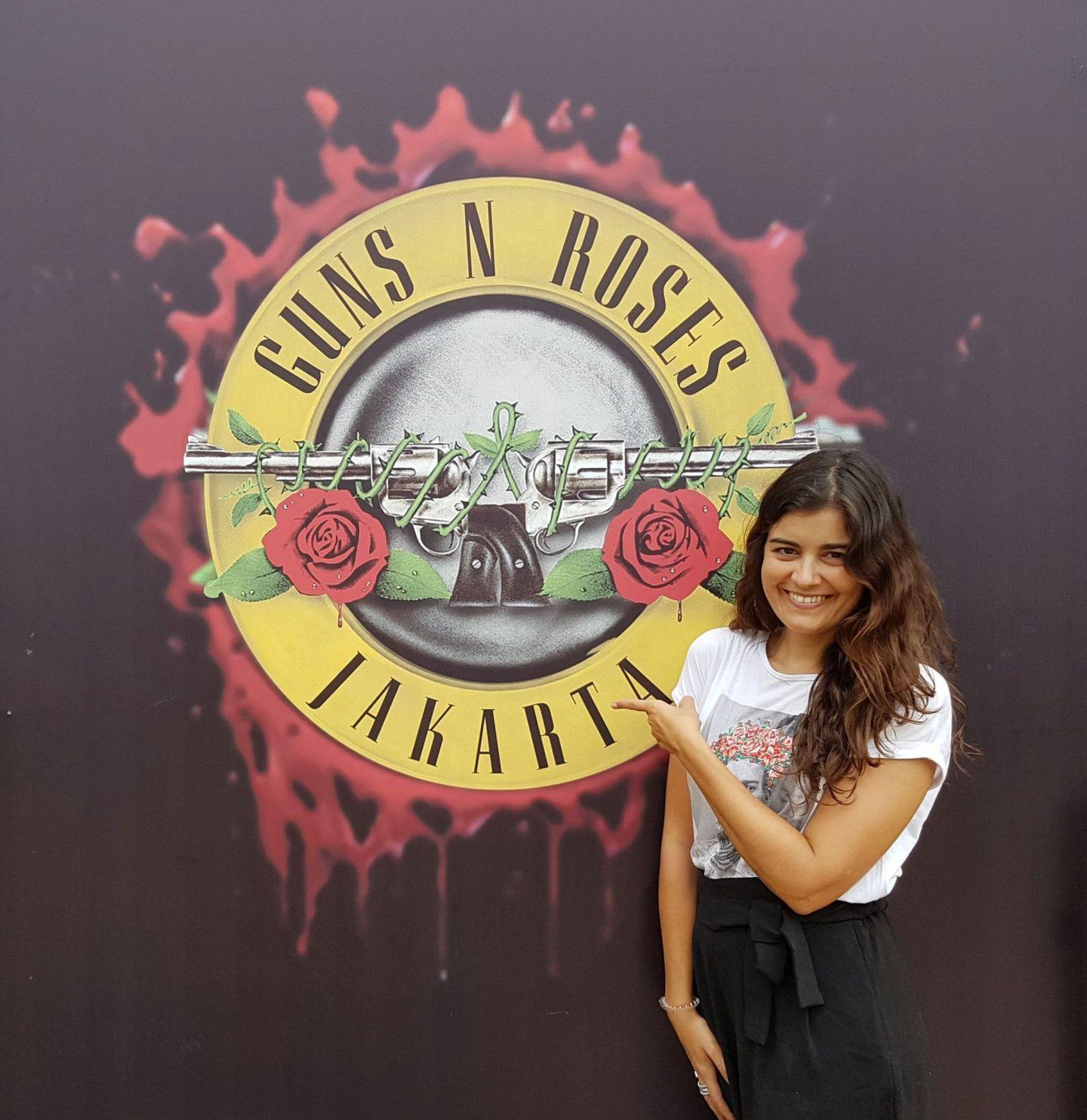 O Concerto de Guns N' Roses em Jakarta