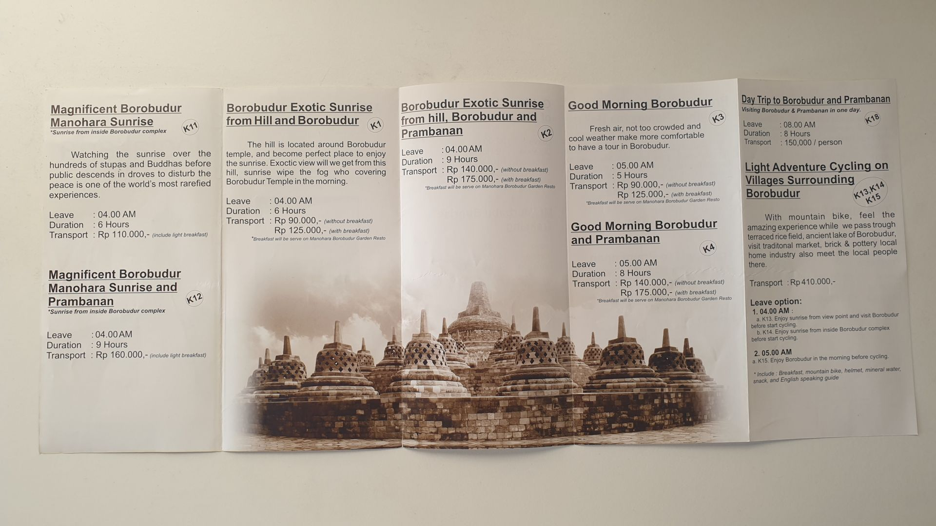 Tours Borobudur 2