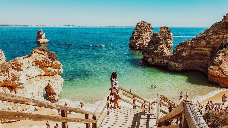 Algarve: Visitar a Praia da Dona Ana & Praia do Camilo